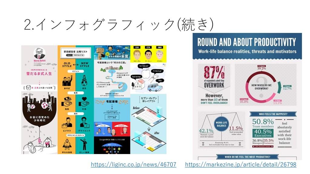 2.インフォグラフィック(続き) https://markezine.jp/article/d...