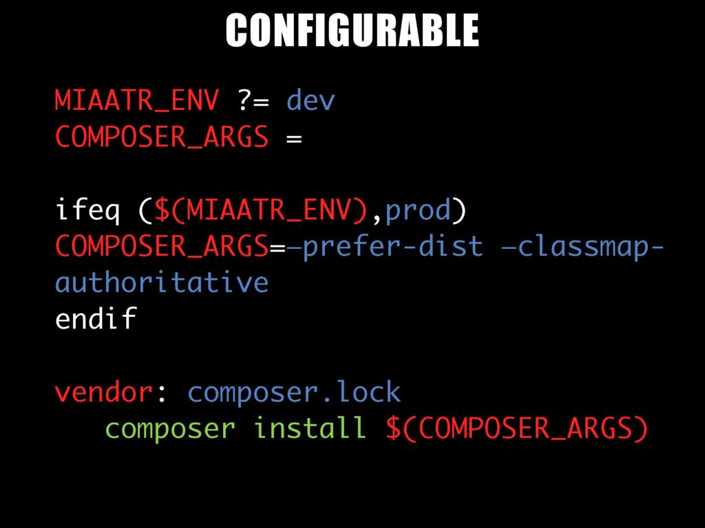 MIAATR_ENV ?= dev COMPOSER_ARGS = ifeq ($(MIAAT...