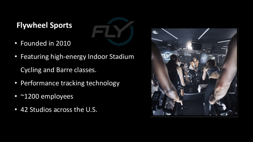 Flywheel Sports • Founded in 2010 • Featuring h...