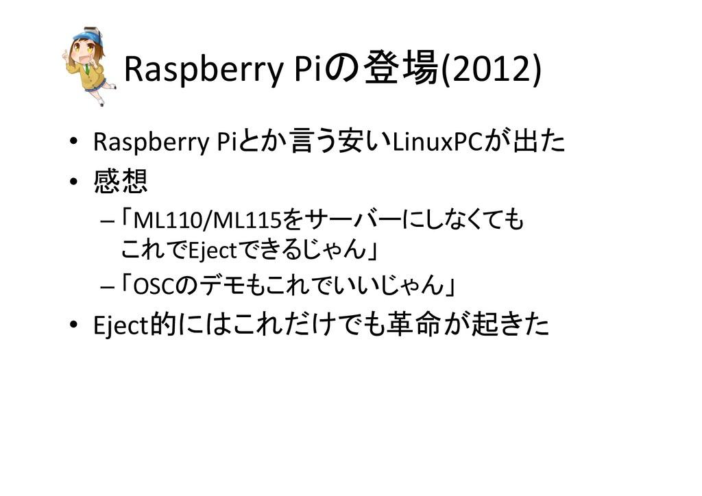 Raspberry Pi(2012) • Raspberry Pi Linux...