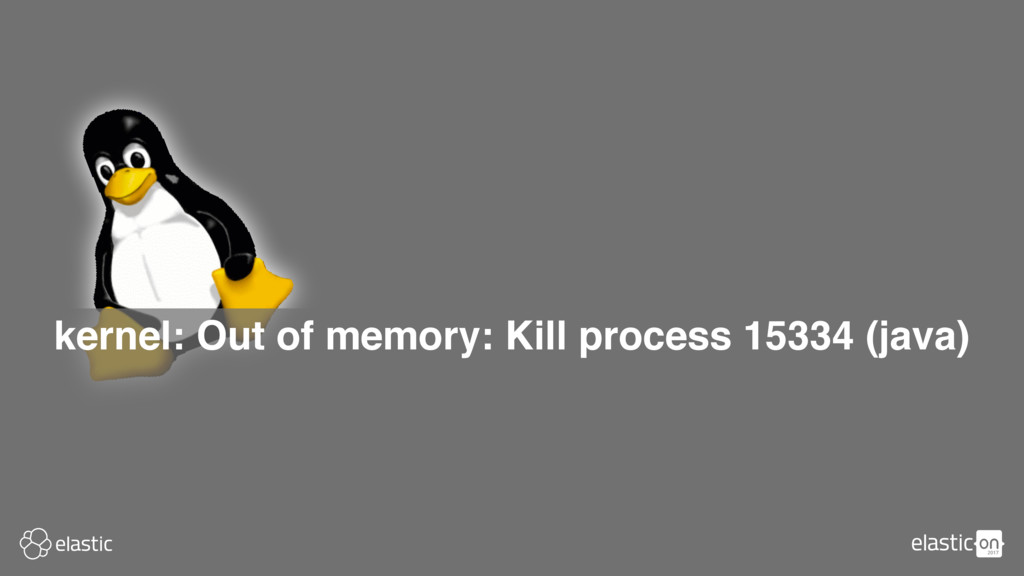 kernel: Out of memory: Kill process 15334 (java)