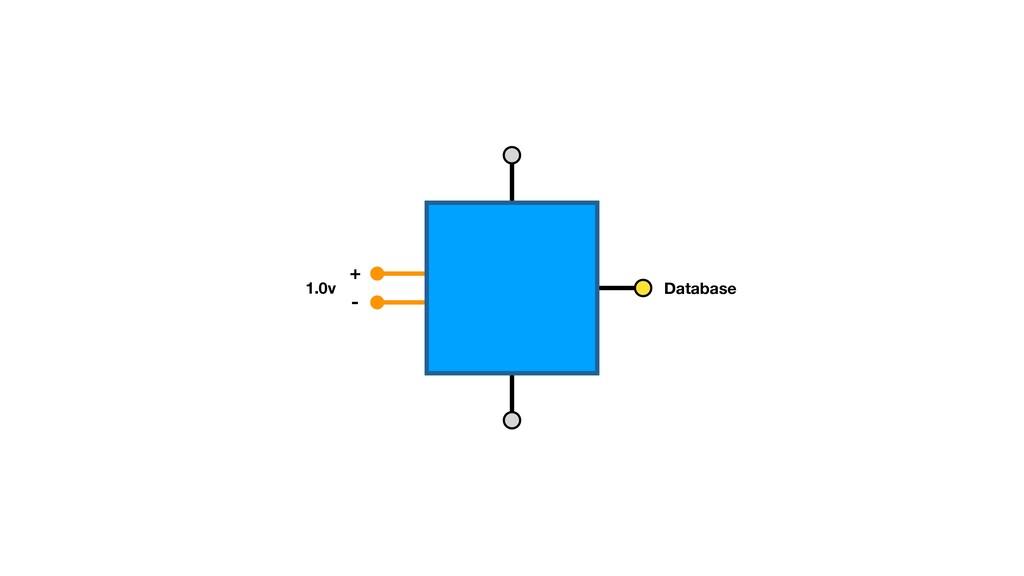 + - 1.0v Database