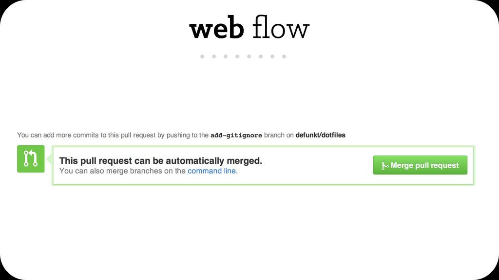web flow