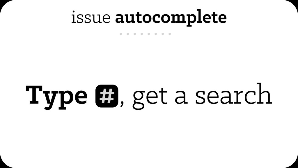 issue autocomplete Type , get a search #