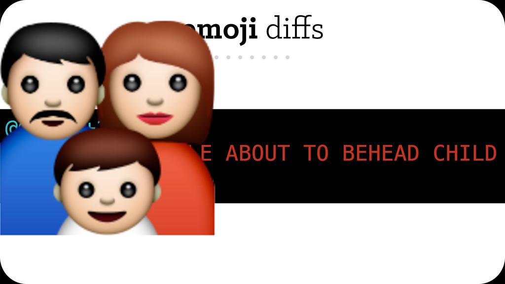 emoji diffs