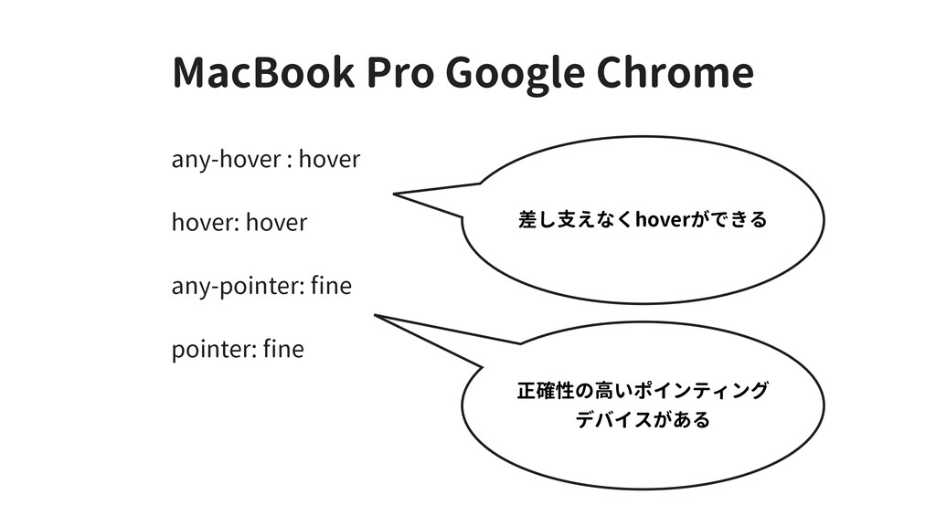 MacBook Pro Google Chrome any-hover : hover hov...