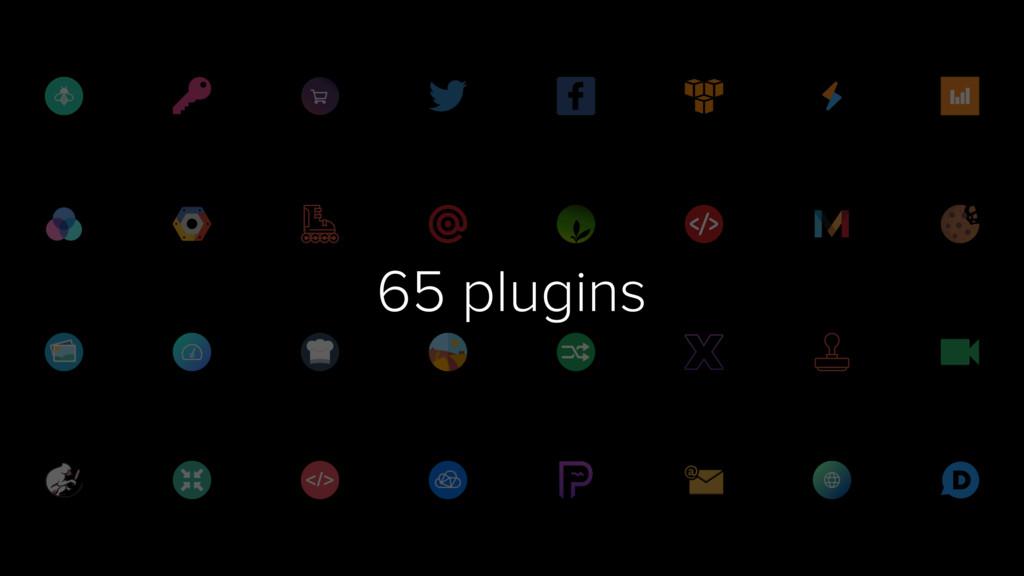 65 plugins