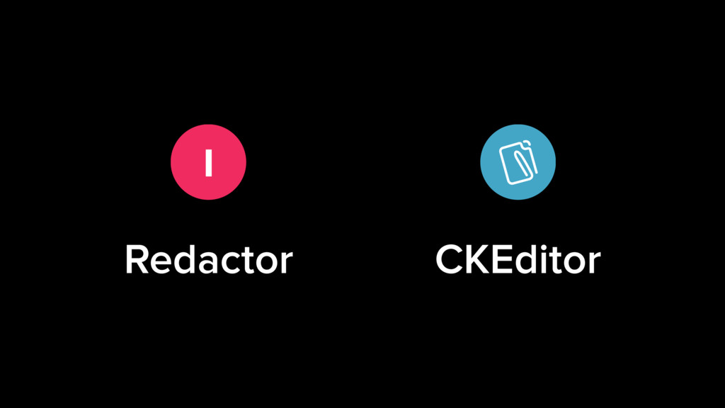 I Redactor CKEditor