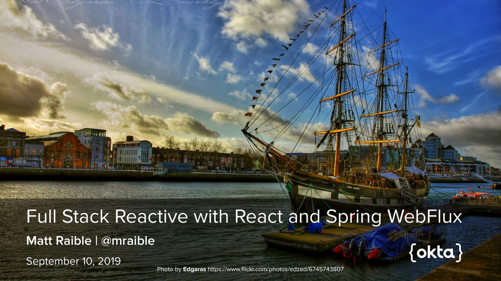 Full Stack Reactive with React and Spring WebFl...