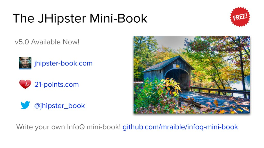 The JHipster Mini-Book v5.0 Available Now! jhip...