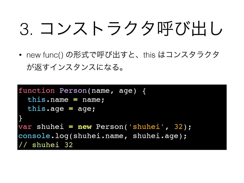 3. ίϯετϥΫλݺͼग़͠ function Person(name, age) { thi...