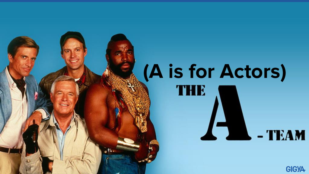 (A is for Actors)