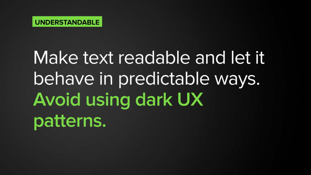 Make text readable and let it behave in predict...