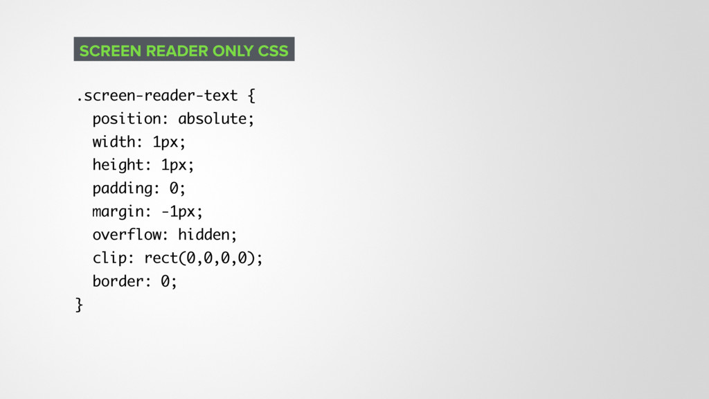 .screen-reader-text { position: absolute; width...