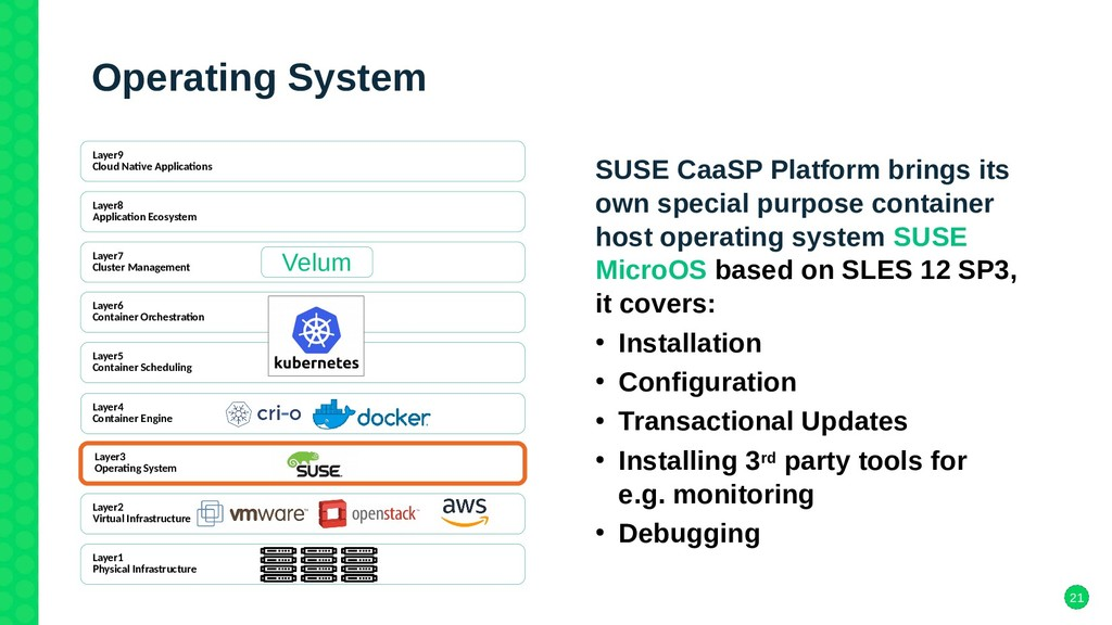 21 Operating System SUSE CaaSP Platform brings ...