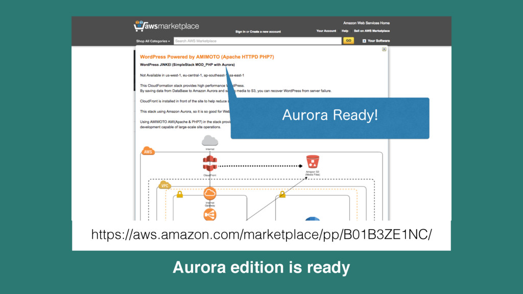 Aurora edition is ready https://aws.amazon.com/...