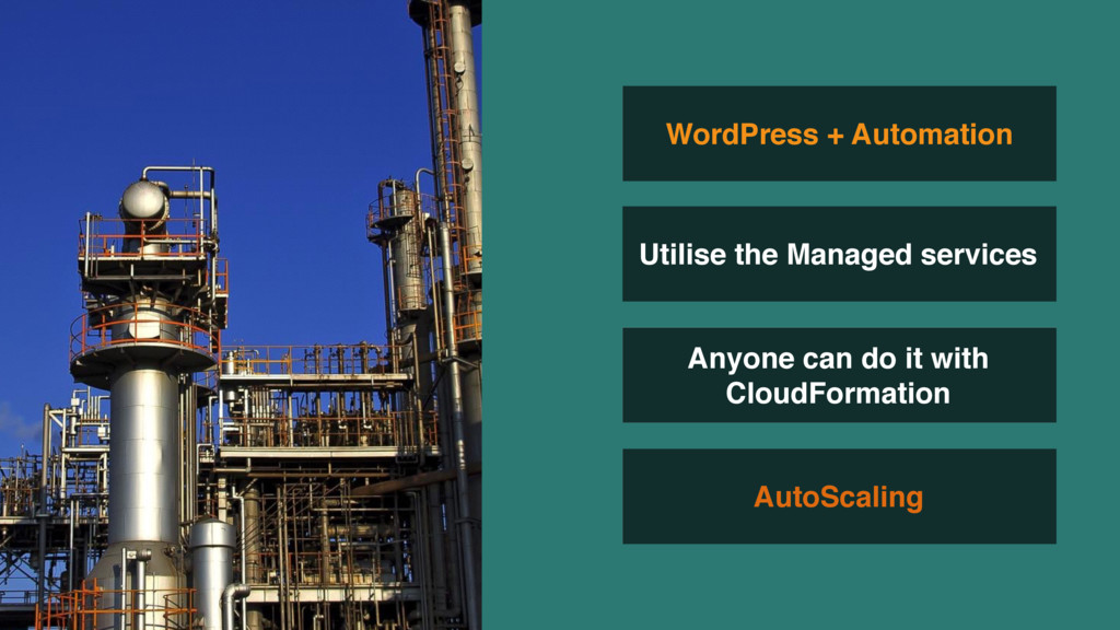 AutoScaling WordPress + Automation Utilise the ...