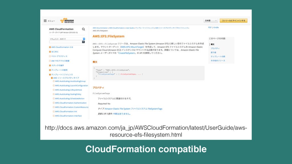 CloudFormation compatible http://docs.aws.amazo...