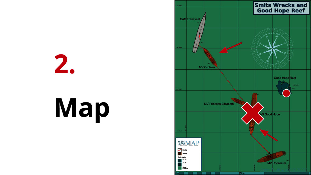 2. Map Peter Southwood © 20011