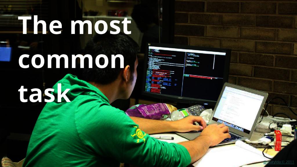 @matylda © 2011 The most common task