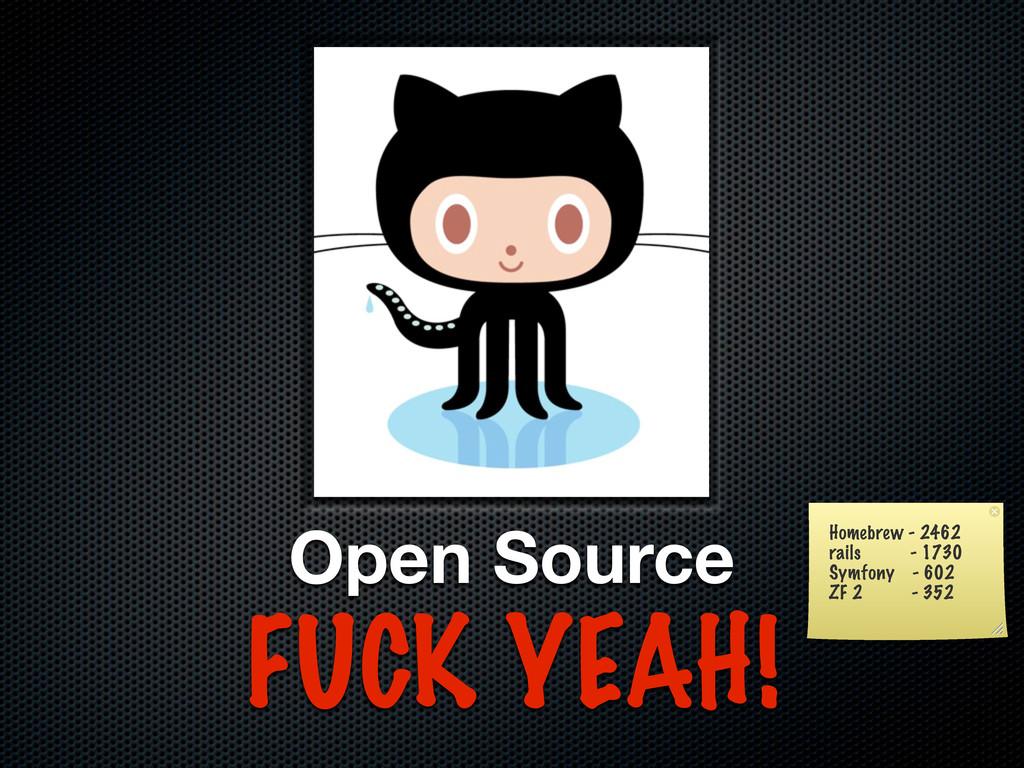 Open Source FUCK YEAH! Homebrew - 2462 rails - ...