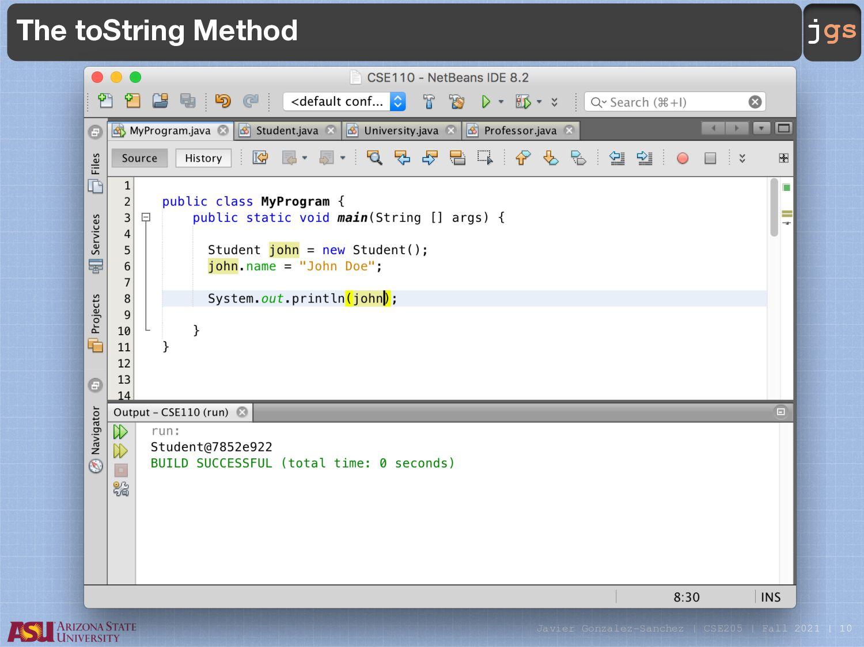 jgs Tabs The class JTabbedPane