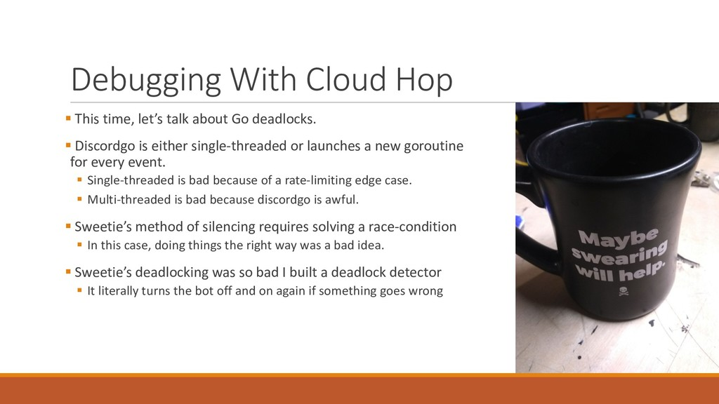 Debugging With Cloud Hop § This ti...