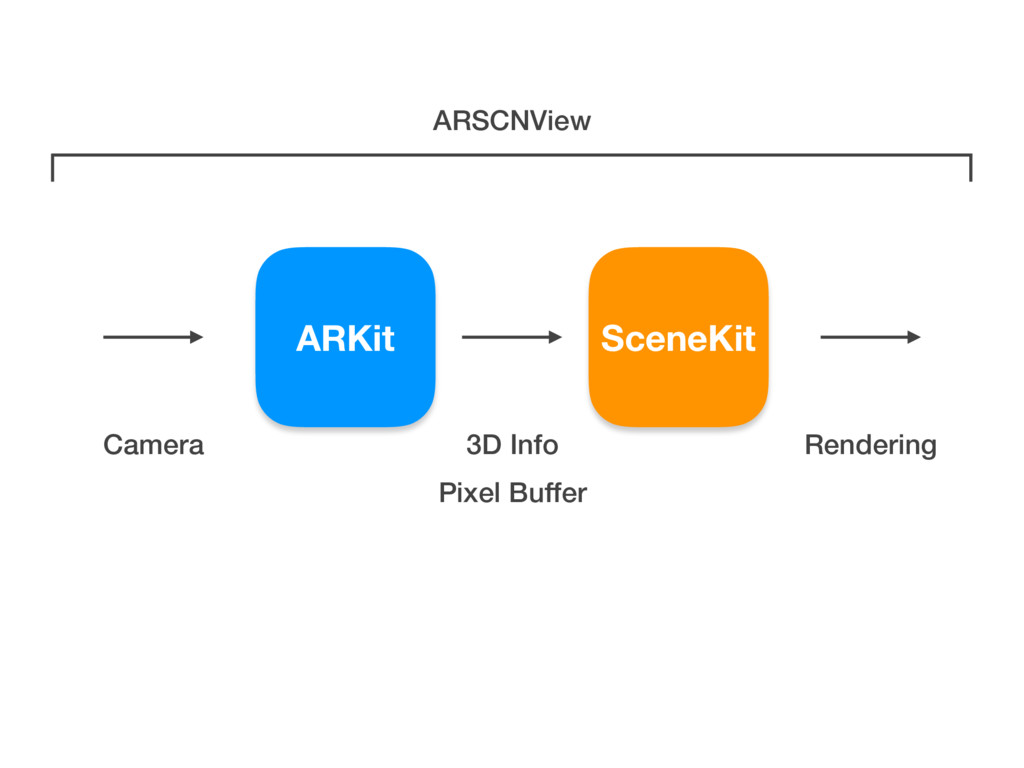 ARKit Camera SceneKit Pixel Buffer 3D Info Rend...