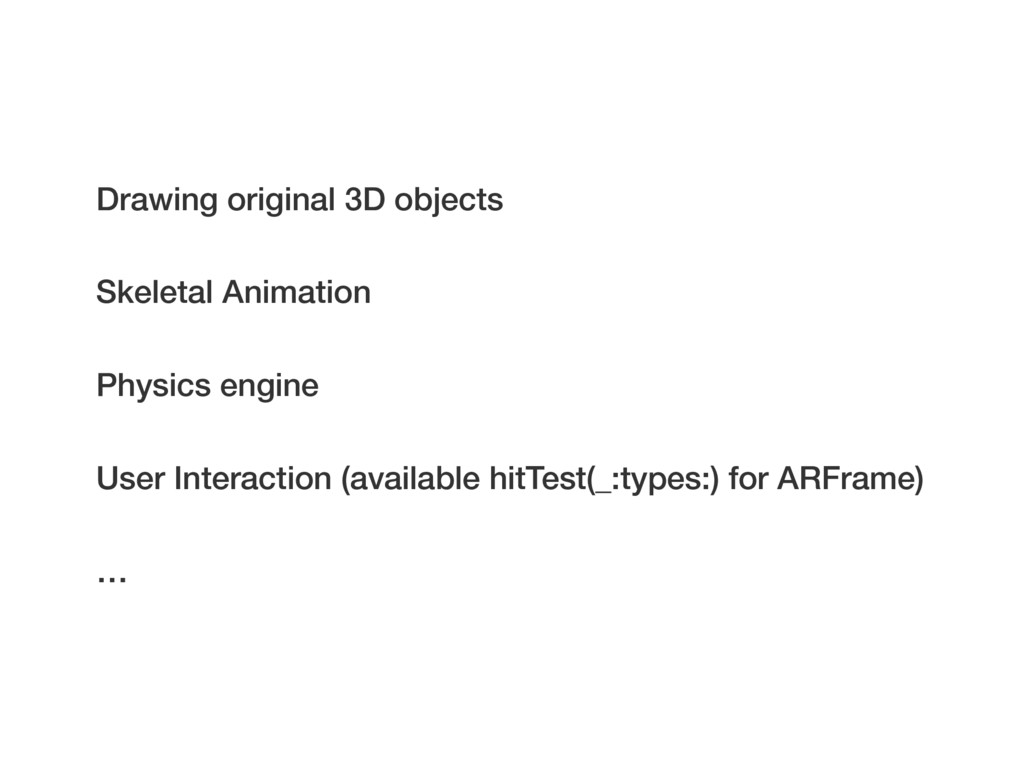 Drawing original 3D objects User Interaction (a...
