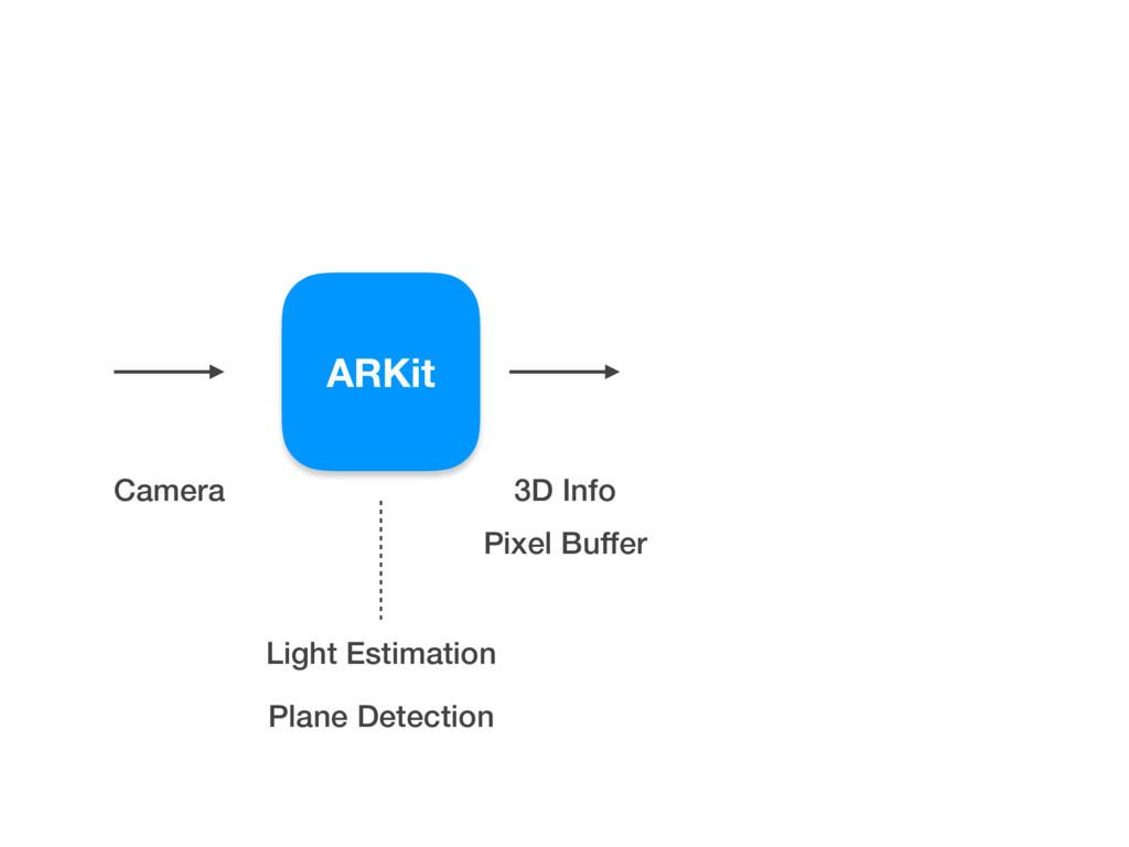 ARKit Camera Pixel Buffer 3D Info Light Estimat...