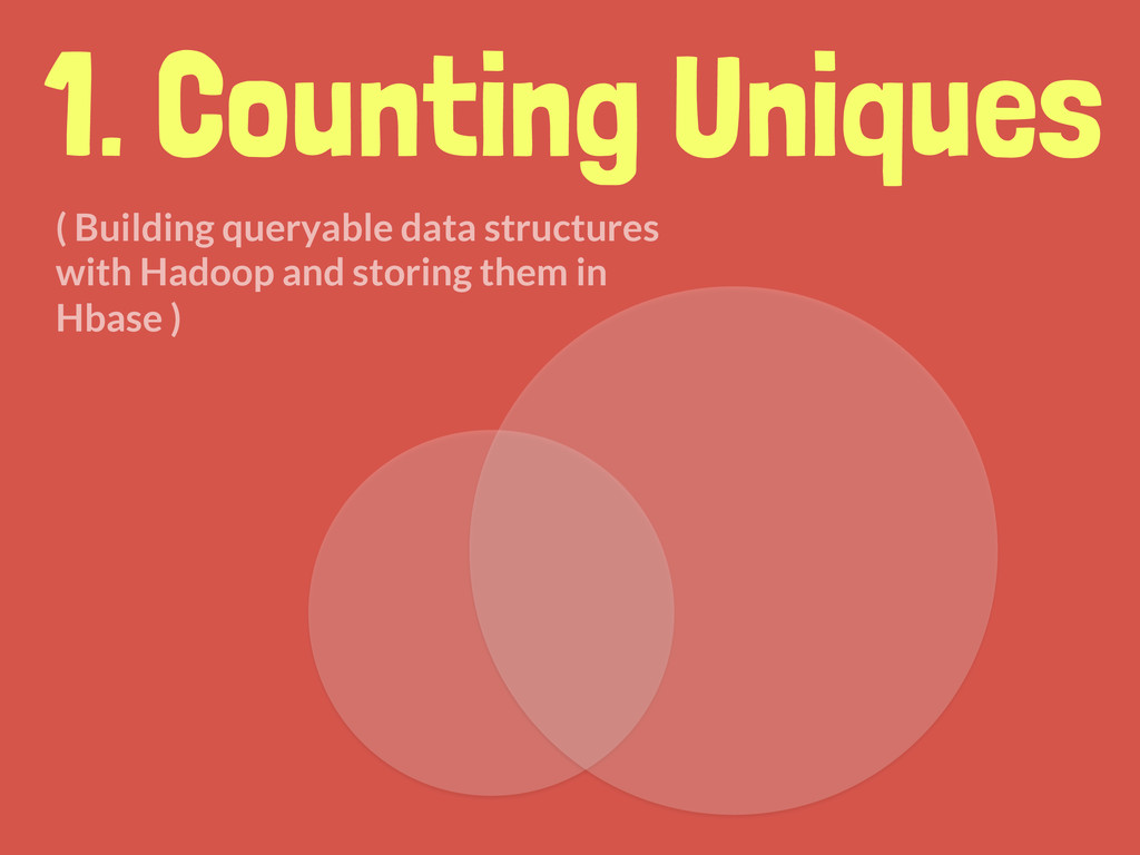 1. Counting Uniques ( Building queryable data s...