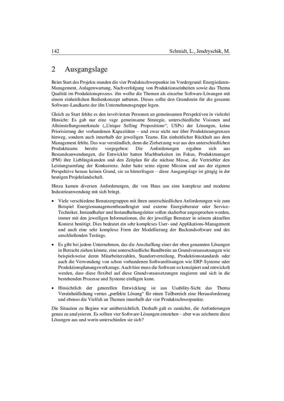 142 Schmidt, L., Jendryschik, M. 2 Ausgangslage...