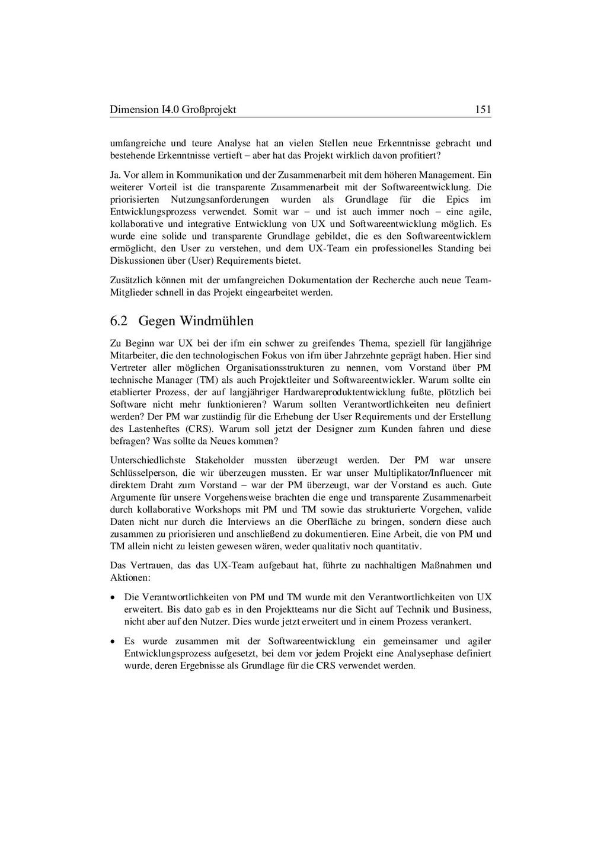 Dimension I4.0 Großprojekt 151 umfangreiche und...