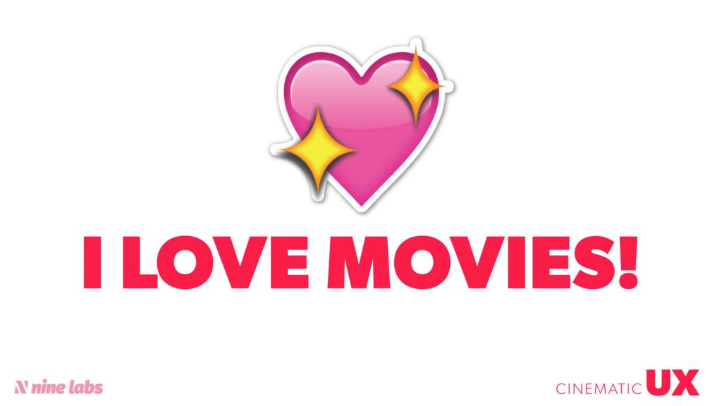 @sbradweaver I LOVE MOVIES! UX CINEMATIC