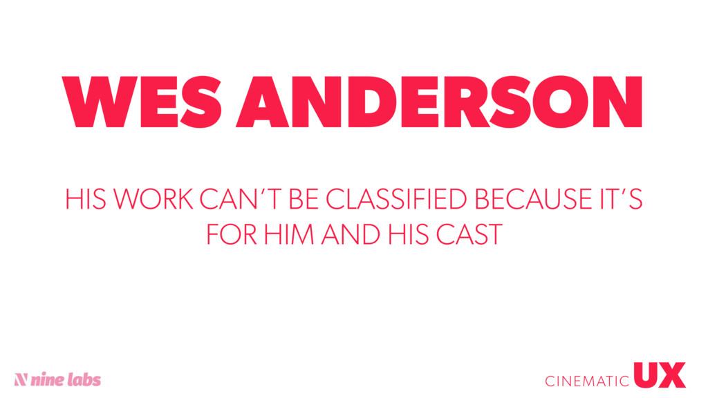 @sbradweaver WES ANDERSON UX CINEMATIC HIS WORK...