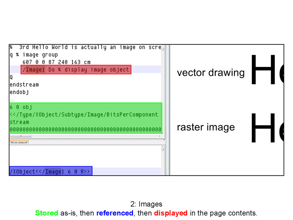 2: Images Stored as-is, then referenced, then d...