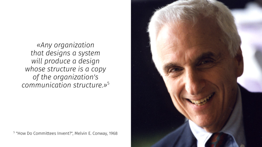 «Any organization that designs a system will pr...