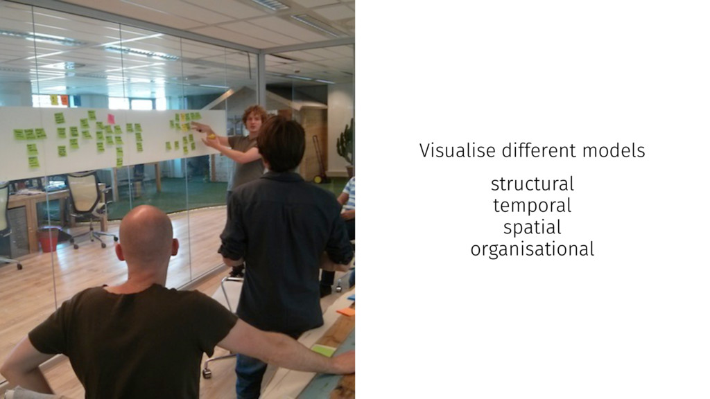 Visualise different models structural temporal ...