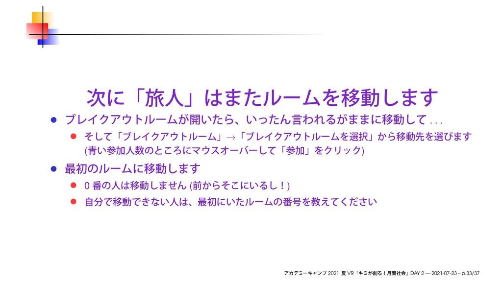 . . . → ( ) 0 ( ) 2021 VR DAY 2 — 2021-07-23 – ...