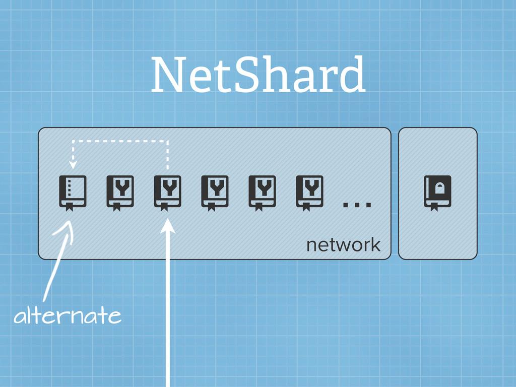 NetShard       ...  alternate network