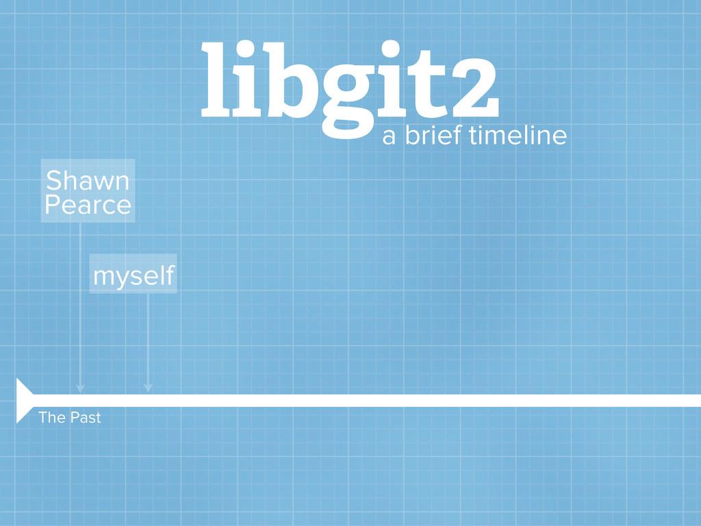 libgit2 a brief timeline Shawn Pearce myself Th...