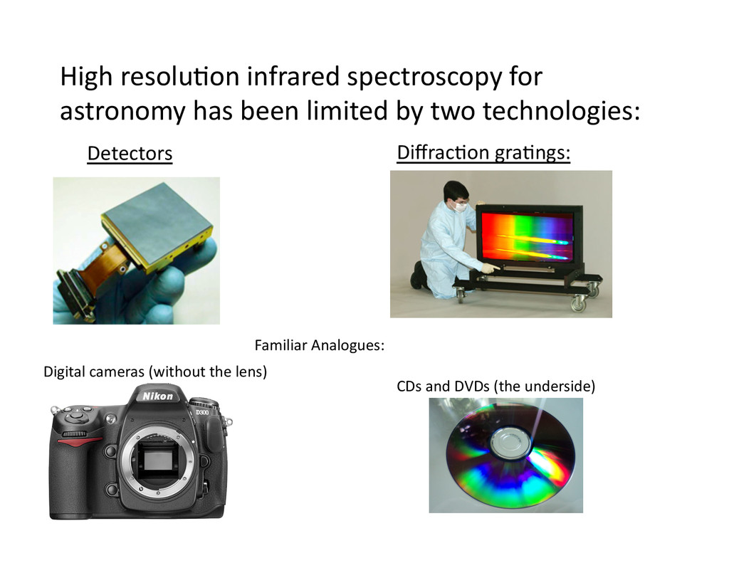 High resolu/on infrared spectroscopy...