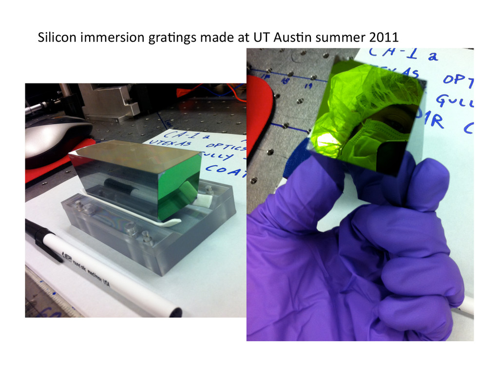 Silicon immersion gra/ngs made at...
