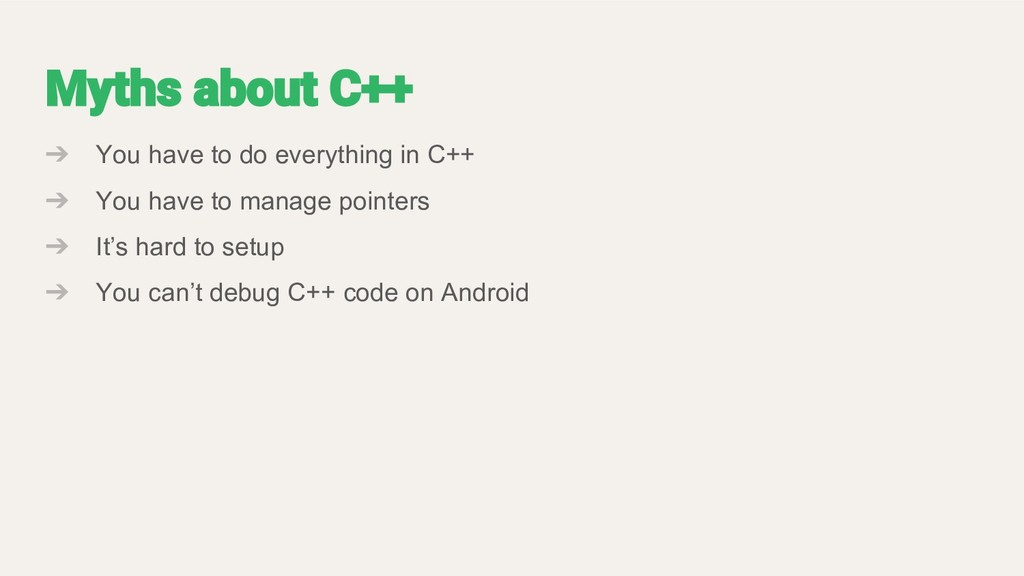 ➔ You have to do everything in C++ ➔ You have t...