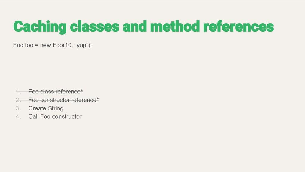 """Foo foo = new Foo(10, """"yup""""); 1. Foo class refe..."""