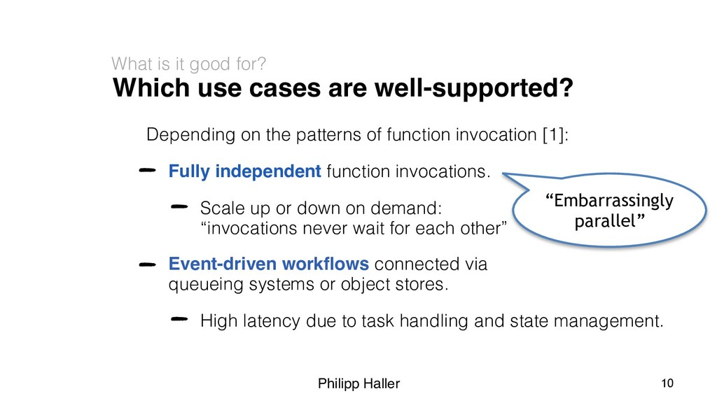 Philipp Haller Which use cases are well-support...