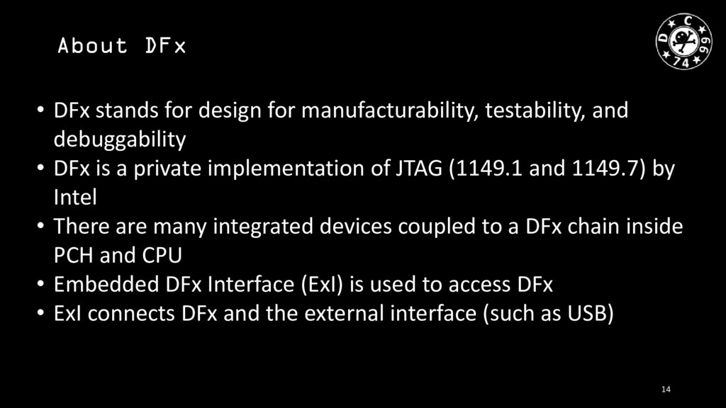 About DFx • DFx stands for design for manufactu...