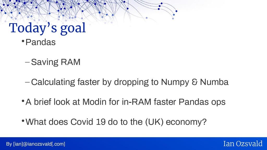  Pandas – Saving RAM – Calculating faster by d...