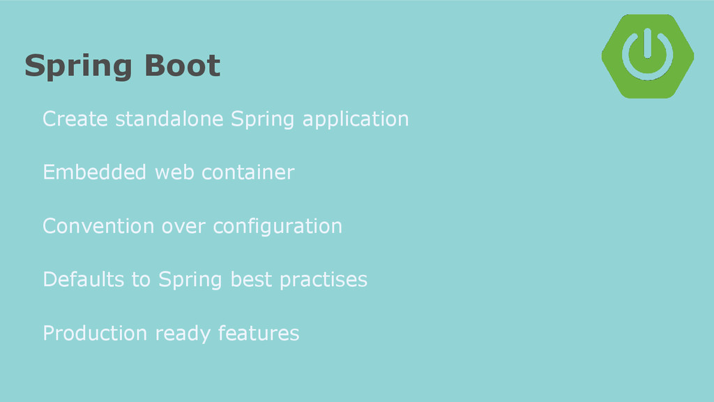 Spring Boot Create standalone Spring applicatio...
