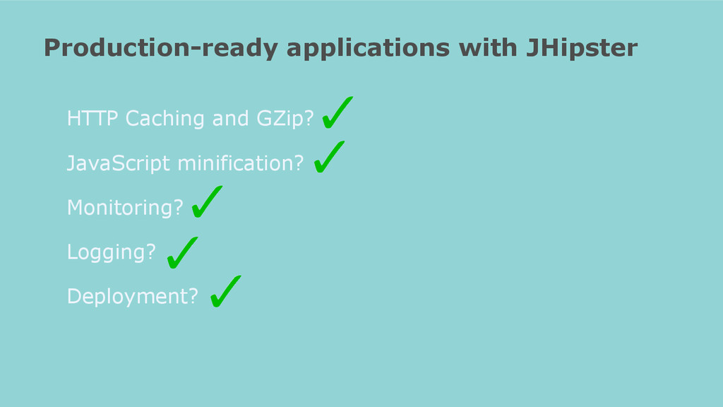 Production-ready applications with JHipster HTT...